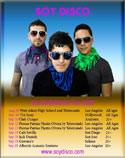 Soy Disco California Tour